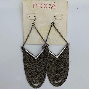 NWT MACYS earrings